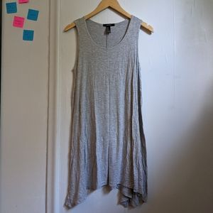 forever 21 light grey summer dress